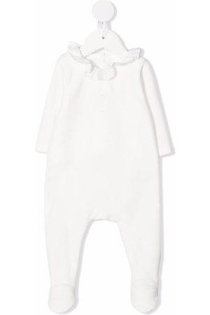 Chloé Pijama con cuello con volantes