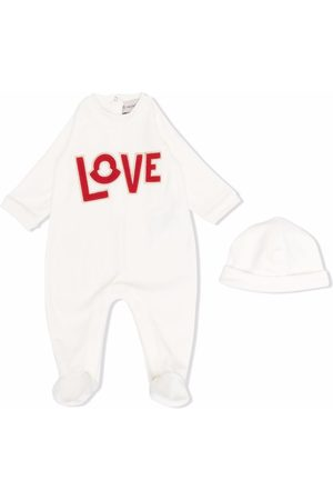 Moncler Pijama con bordado Love