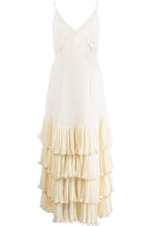 Khaite Mujer De noche - Vestido Myrtle largo con capas escalonadas