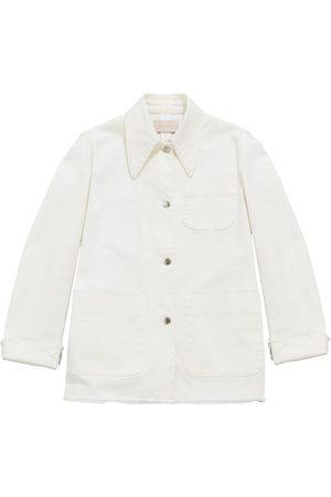 Christopher Kane Mujer Vaqueras - Organic cotton denim jacket