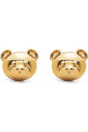 Moschino Pendientes de clip con motivo Teddy Bear