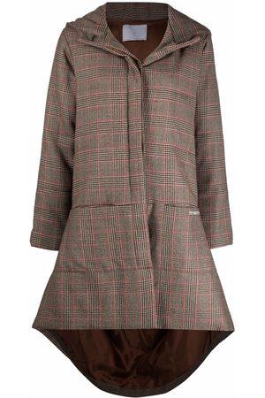 SOCIÉTÉ ANONYME Mujer Parkas - Check parka coat