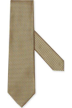 Ermenegildo Zegna Hombre Corbatas y corbatín - Silk patterned-jacquard tie