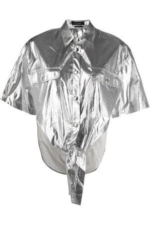 Isabel Marant Camisa metalizada