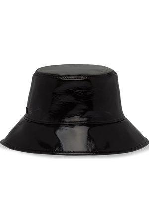 Miu Miu Sombrero de pescador con acabado brillante