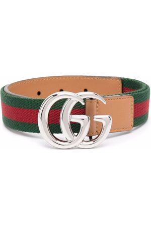 Gucci Cinturón con placa del logo GG