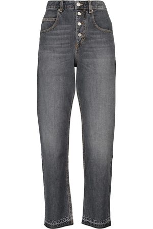 Isabel Marant, Étoile Jeans ajustados Belden de tiro alto