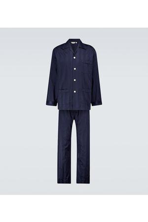 DEREK ROSE Pijama Lingfield de algodón