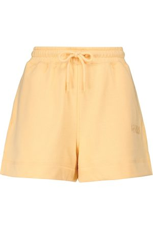 Ganni Shorts en mezcla de algodón