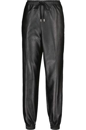 Stella McCartney Pantalones de chándal Kira piel sintética