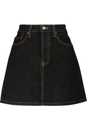 WARDROBE.NYC Mujer Minifaldas - Minifalda vaquera