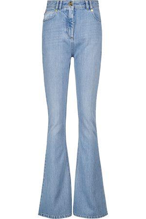 Balmain Jeans flared de tiro alto
