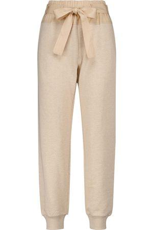 ULLA JOHNSON Pantalones de chándal Haven de algodón