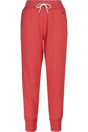 Polo Ralph Lauren Pantalones de felpa en mezcla de algodón