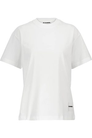 Jil Sander Plus - set de 3 camisetas de punto de algodón