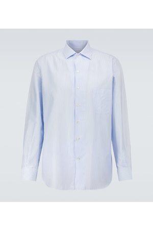 Loro Piana Camisa André de algodón de rayas