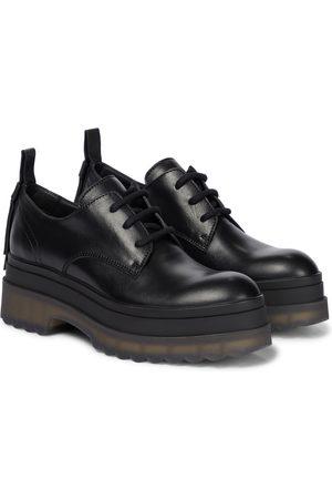 RED(V) Zapatos Derby de piel con plataforma