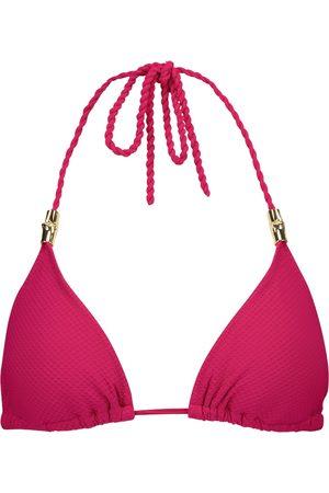 Heidi Klein Top de bikini triangular Melides