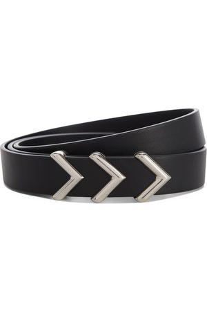 Bottega Veneta Mujer Cinturones - Cinturón de piel