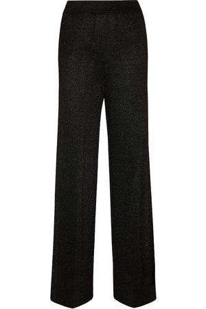 Missoni Mujer Pantalones de talle alto - Pantalones anchos de tiro alto