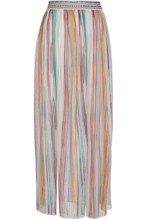 Missoni Mujer Largas - Falda larga a rayas