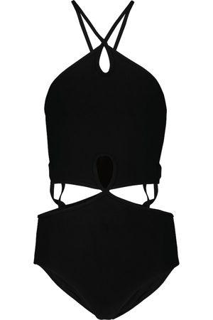 CHRISTOPHER ESBER Bañador calado con cuello halter