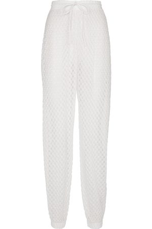 Missoni Pantalones punto en zigzag de tiro alto