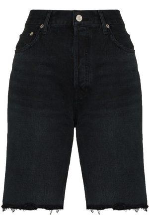 AGOLDE Mujer Vaqueros - Pantalones vaqueros cortos por la rodilla