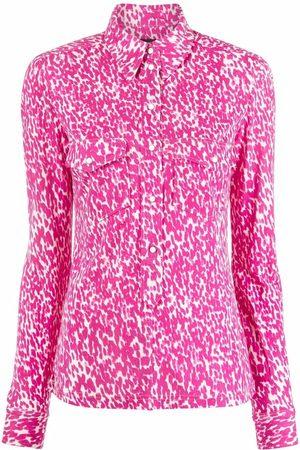 Isabel Marant Mujer Camisas - Camisa con motivo de pintura