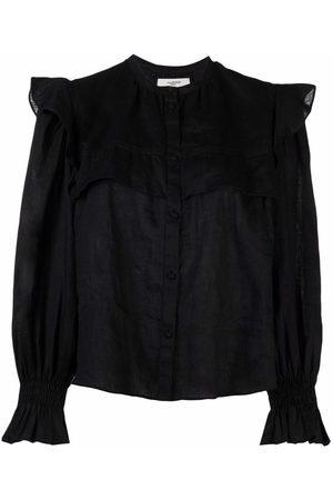 Isabel Marant Mujer Blusas - Blusa con ribete de volante