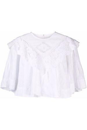 Isabel Marant Mujer Blusas - Blusa corta con volantes