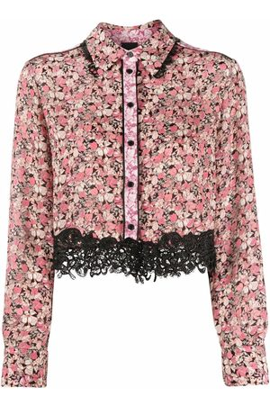 Pinko Camisa floral con botones