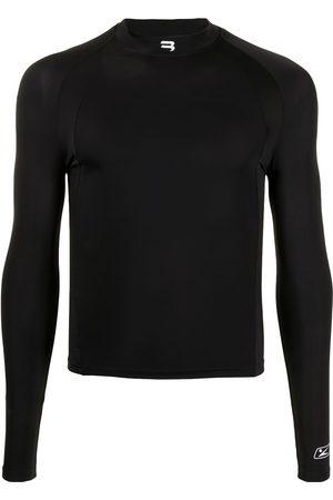 Balenciaga Mujer Tops - B Sport logo long-sleeve fitted top