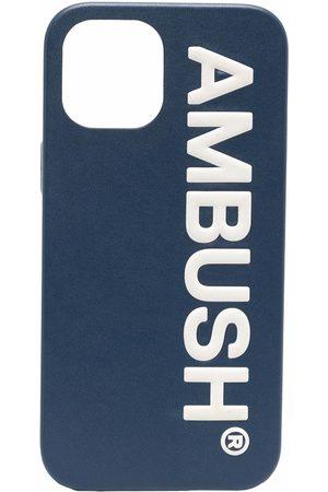 AMBUSH Fundas de móvil y Tablets - IPHO 12 PROMAX CASE MAXI LOG NAVY TOFU
