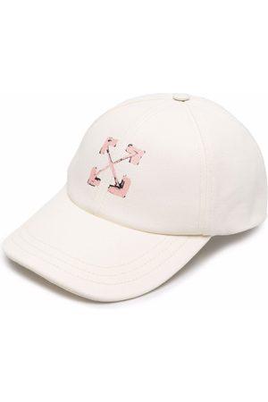 OFF-WHITE ARROWS BASEBALL CAP BEIGE PINK