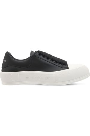 Alexander McQueen | Mujer Sneakers De Piel Deck Plimsoll De Piel 45mm 35