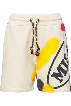 Palm Angels   Mujer Shorts Deportivos Missoni De Algodón Estampados /multi Xs