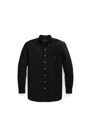 Ralph Lauren Camisa Oxford teñida en prenda