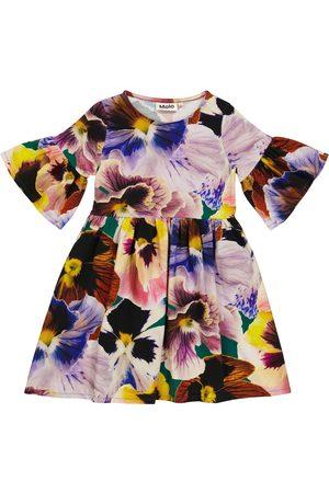 Molo Vestido Chasity de terciopelo floral