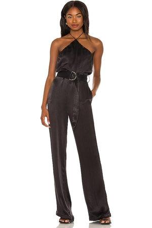 Karina Grimaldi Mujer Monos y Petos - Danna jumpsuit en color talla L en - Black. Talla L (también en XS, S, M).