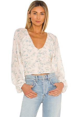 Free People Mujer Blusas - Blusa final rose en color blanco talla L en - White. Talla L (también en XS, S, M, XL).