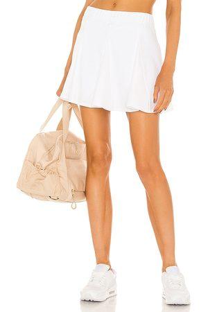 YEAR OF OURS Mujer Vestidos y faldas - Falda-pantalón tennis en color talla L en - White. Talla L (también en S, XS, M).