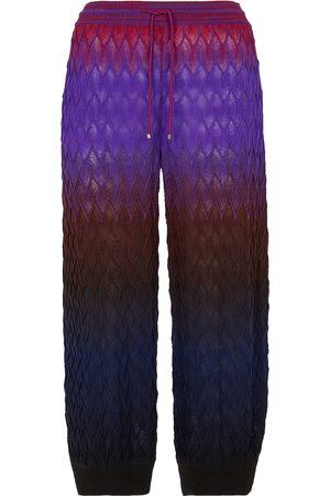 Missoni Pantalones de chándal de lana