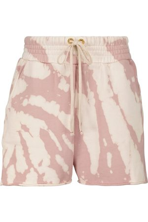 Les Tien Shorts Yacht de algodón tie-dye