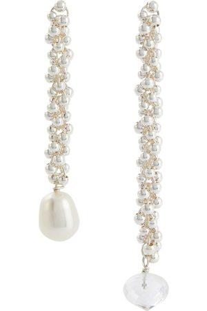 Alighieri Mujer Pendientes - Pendientes The Reunion Of The Stars de perlas y plata de ley