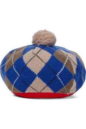 Burberry Niña Gorros - Boina en mezcla de lana