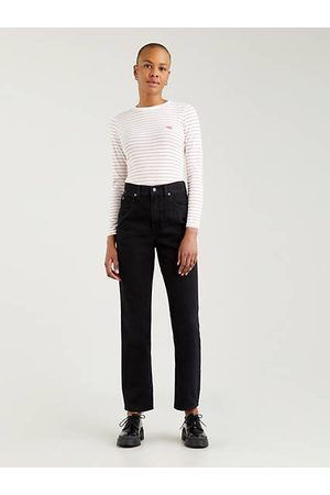 Levi's 70's High Slim Straight Jeans Black / Trainwreck
