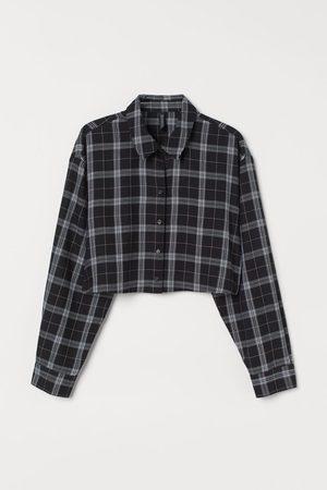 H & M Mujer Crop tops - Camisa cropped