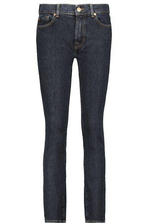 7 for all Mankind Jeans ajustados Roxanne de tiro alto