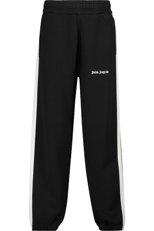 Palm Angels Pantalones de chándal punto de algodón